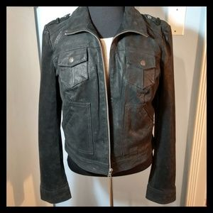 🏍️ Like New Levi's Suede Motorcycle Jacket